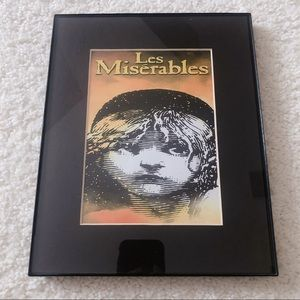 Les Miserables Poster in Frame